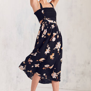 Kimchi Blue Buttercup Apron Midi Skirt | Urban Outfitters