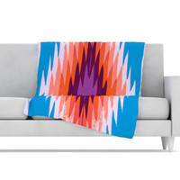KESS InHouse Surf Lovin Hawaii Fleece Throw Blanket