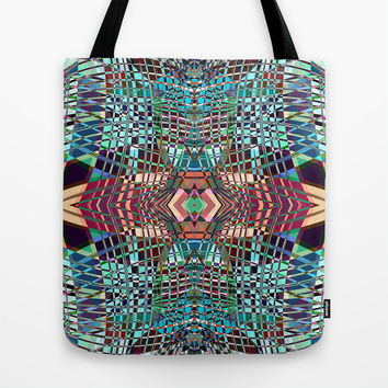 SWEEPING LINE PATTERN II-A3 Tote Bag by Pia Schneider [atelier COLOUR-VISION]