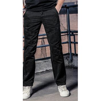 Men's Cargo Pants Multi Pocket Baggy Cargo Home Casual Men Work Pants Zipper Pocket Male Long Trousers Cotton Pant