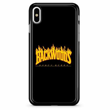 Backwoods Thrasher iPhone X Case