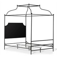 Double Canopy Olivia Panel Queen Bed