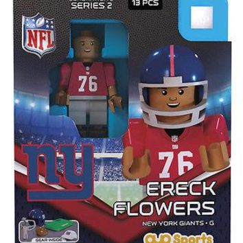 ERECK FLOWERS NEW YORK GIANTS G3LE OYO MINIFIGURE BRAND NEW  SHIPPING