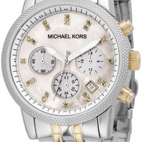 Michael Kors Two Tone Link Bracelet MK5057 Watch