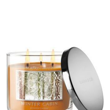 Winter Cabin 14.5 oz Candle - Slatkin & Co. - Bath & Body Works