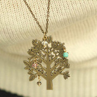Life of Tree Fashion Necklace  | LilyFair Jewelry