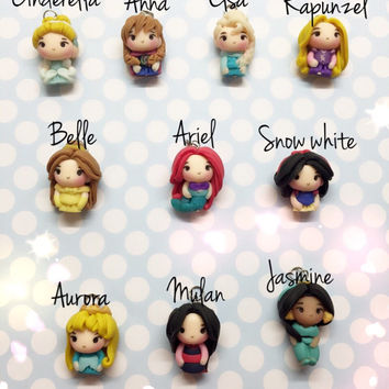 Disney princesses, disney princess jewelry, disney princess earrings, disney frozen, frozen elsa, rapunzel, little mermaid, cinderella