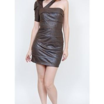 Black Halo Cole Banded Dress as seen worn by Janelle Snowden
