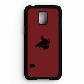 Crooks Castles Air Gun Spades Silhuette Samsung Galaxy S5 Mini Case