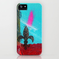 Mini Fleur iPhone Case by Catherine Holcombe | Society6