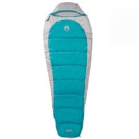 Coleman Silverton 350 Mummy Sleeping Bag Teal/Tan 2000015770