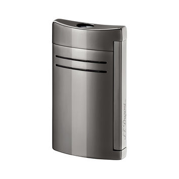 S.T. Dupont MaxiJet Gunmetal and Chrome Torch Flame Lighter