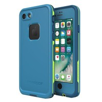 CREYON2D Lifeproof FR¨¥ SERIES Waterproof Case for iPhone 8 & 7 (ONLY) - Retail Packaging - BANZAI (COWABUNGA/WAVE CRASH/LONGBOARD)