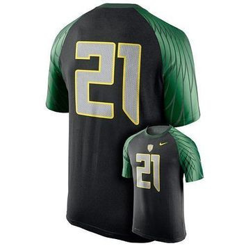 Nike Oregon Ducks Dri-FIT Men's Wild Card Jersey T-Shirt- Size XL & L - NWT