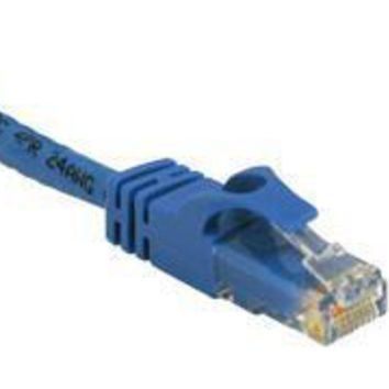 C2g 14ft Usa Cat 6 Stranded Patch Cable Blue