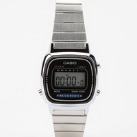 Casio Small Digital Silver Watch