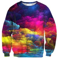 Abstract Color Sweater