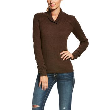 Ariat Ladies Verdi Sweater - Ganache Heather