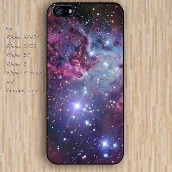 iPhone 5s 6 case colorful nebula fox phone case iphone case,ipod case,samsung galaxy case available plastic rubber case waterproof B296