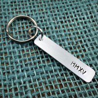 Class of 2015 (MMXV) Roman Numeral Keychain