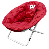 Wisconsin Badgers NCAA Adult Sphere Chair