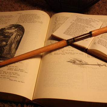 Aberforth dumbledore wand from wandsbylarsen on etsy for Dumbledore wooden wand