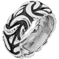 Large Braid - Silver Ring