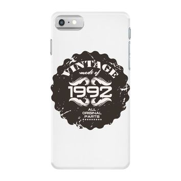 vintage made of 1992 all original parts iPhone 7 Case