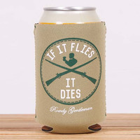 It Flies, It Dies Beer Sleeve