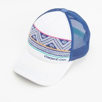 St. Barths Stripe Trucker Hat