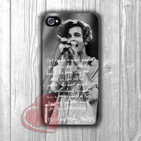 Matt Healy Quotes 1975 - zzii for  iPhone 4/4S/5/5S/5C/6/6+,Samsung S3/S4/S5/S6 Regular/S6 Edge,Samsung Note 3/4