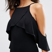 ASOS Body with Cold Shoulder Cami Detail