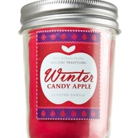 Winter Candy Apple 6 oz. Mason Jar Candle   - Slatkin & Co. - Bath & Body Works