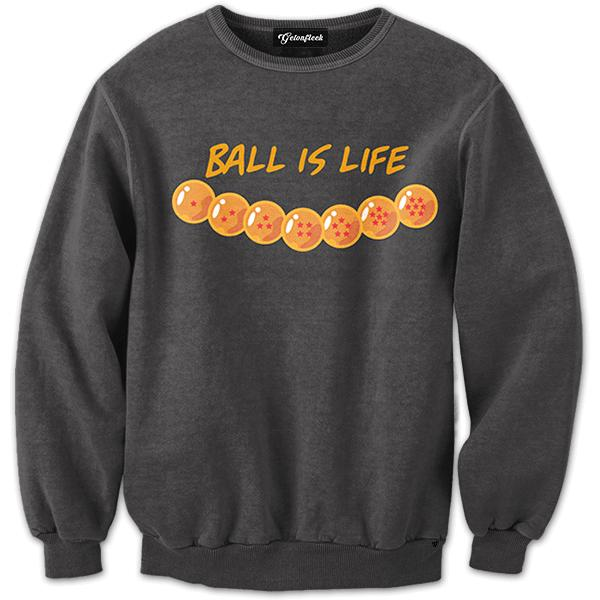 Dragon Ball Is Life Crewneck From Get On Fleek Crewnecks