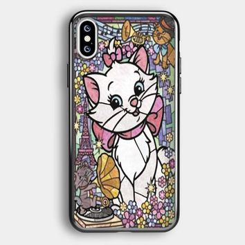 Marie Cat Disney S The Aristocats Stained Glass iPhone XS Max Case | Casefruits