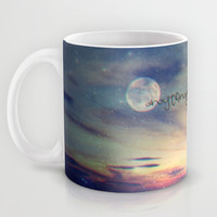 Anything could happen Mug by Monika Strigel | Society6
