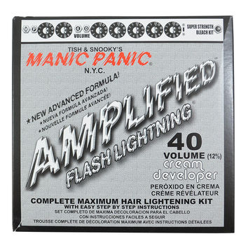 Manic Panic Flash Lightning Amplified Bleach 40 Volume Box Kit Vegan