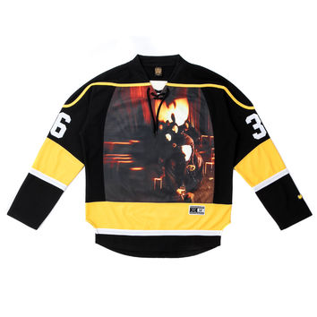 Wutang 36 Chambers Hockey Jersey in Black | Wutang Clan Hockey Jersey | Shop on Wutangclan.com