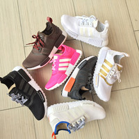"Women ""Adidas"" Knitting Fashion Leisure Running Sports Shoes"