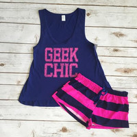 Geek Chic Pajama Set