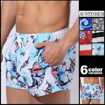 Men's Casual Pants Board Shorts Mens Beach Pants Brand Men Beach Shorts Pants Casual Clothing Homme Outwear Shorts