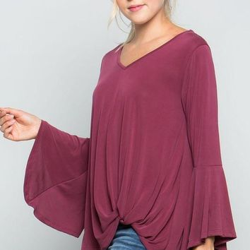Bell Sleeved Top