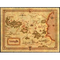 Narnia Map Poster Standup 4inx6in