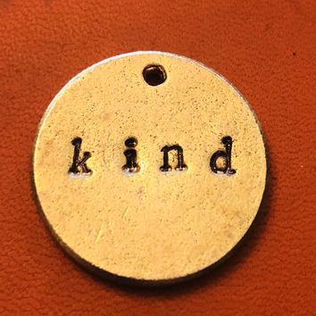 Kind, A Teeny Tiny Bit