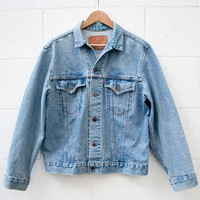Levi's Original Vintage Denim Jacket Mid Wash Blue