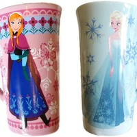 Disney Frozen Exclusive Coffee Mug Set featuring Anna and Elsa