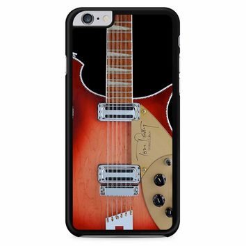 Tom Petty Signature In Fireglo Guitar iPhone 6 Plus / 6s Plus Case