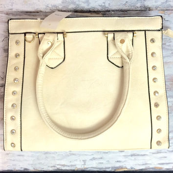On my mind handbag in cream