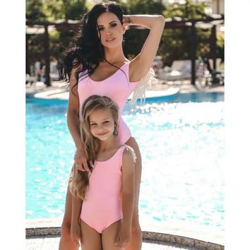 Mother Daughter Matching Angel Pairing Swimsuit