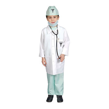 Deluxe Doctor Dress Up Costume Set - Toddler T4